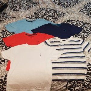 Boy's Nautica T Shirts 7X (Fits a size 6 best)